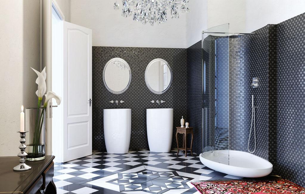 ديكورات حمامات جديدة 2016