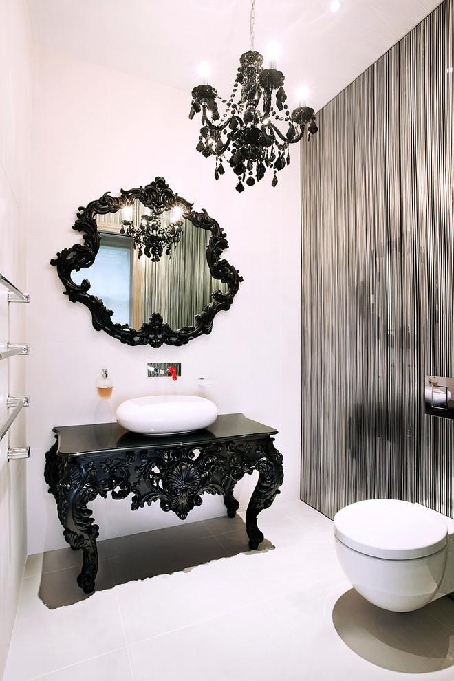حمام عصري بتفاصيل كلاسيك 9 حمام عصري بتفاصيل كلاسيك 9
