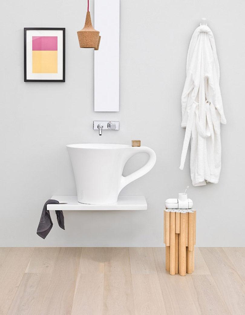 حمام غير تقليدي 1 حمامات إيطالية بتصميمات غير تقليدية