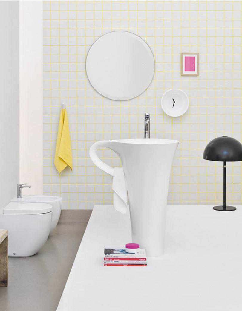حمام غير تقليدي 2 حمامات إيطالية بتصميمات غير تقليدية