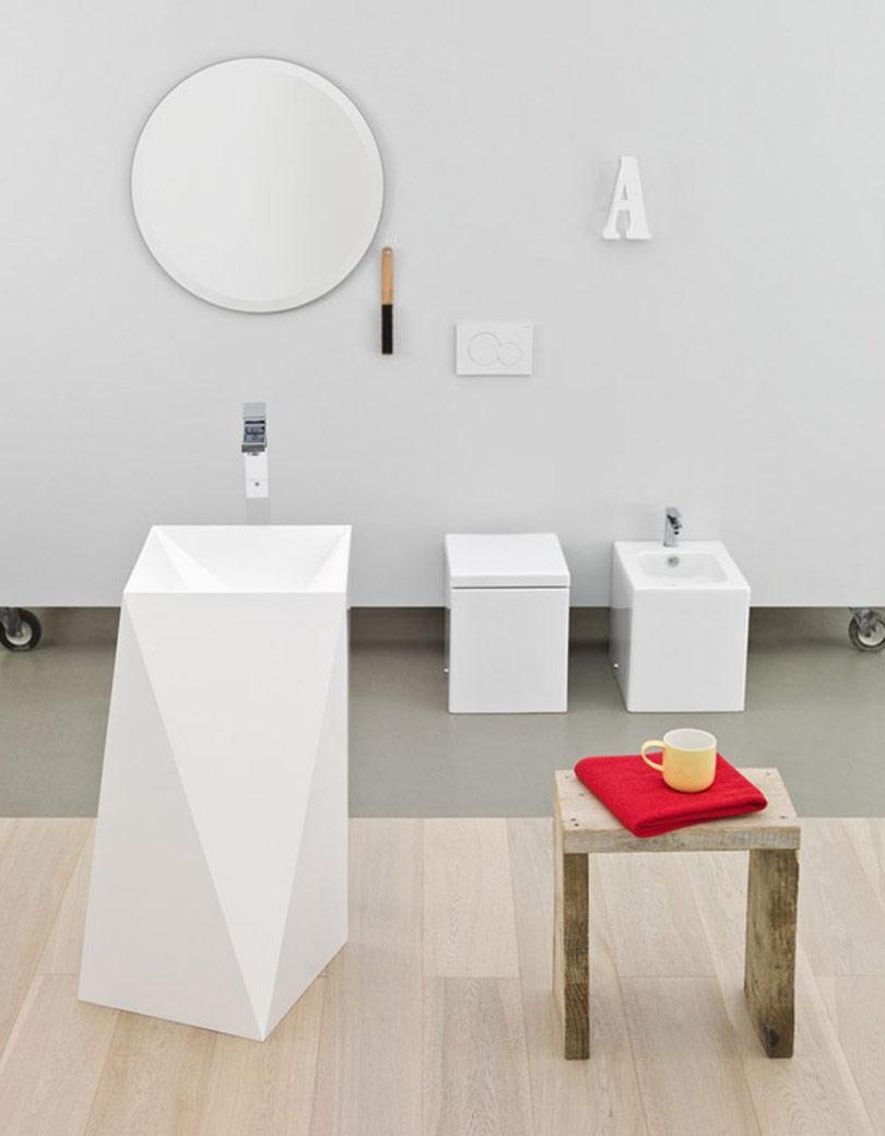 حمام غير تقليدي 8 حمامات إيطالية بتصميمات غير تقليدية