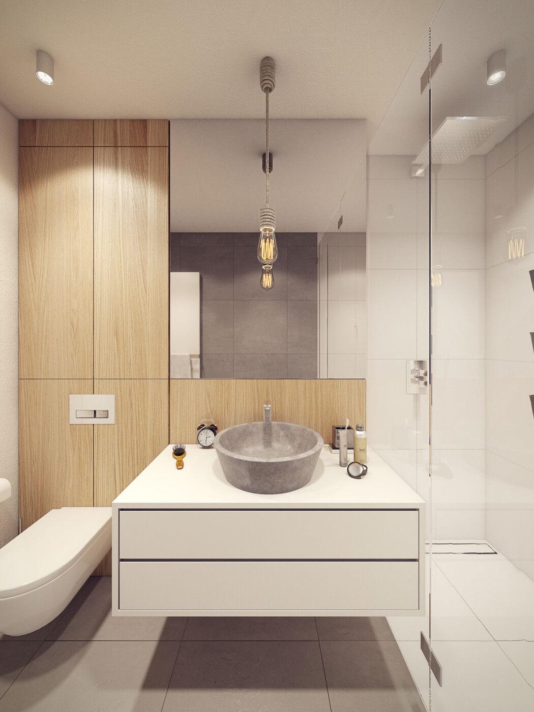 حمام مودرن 22 أفكار رائعة وديكورات مبتكرة في منزل مودرن متميز