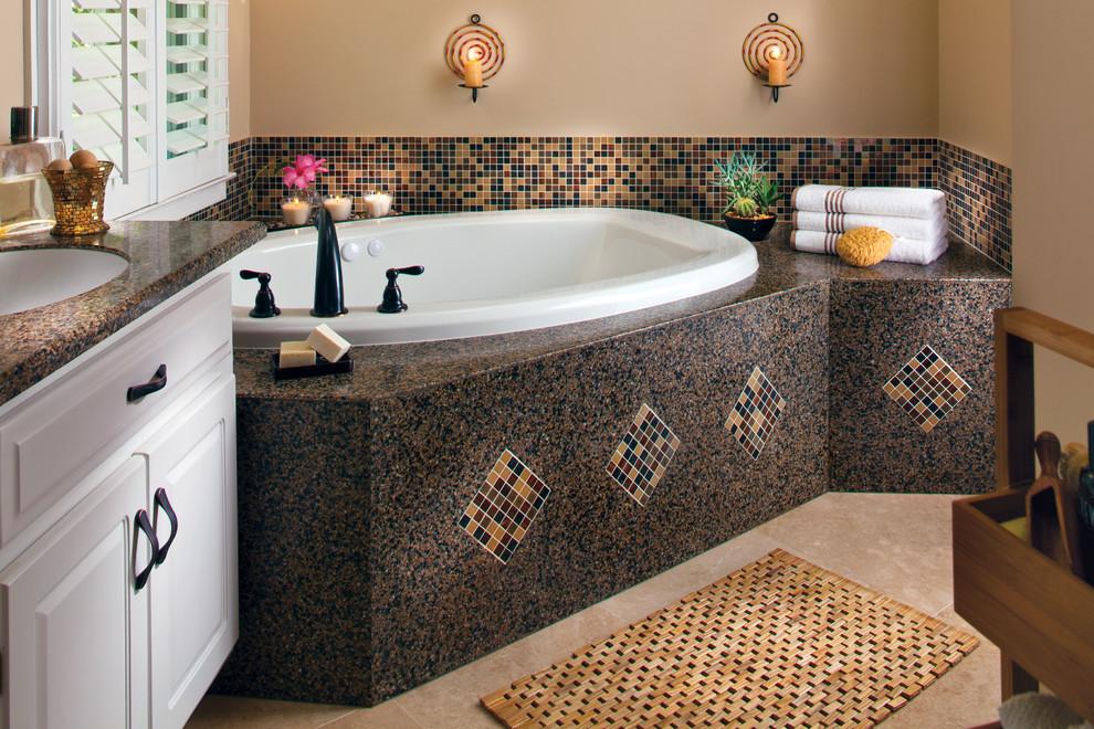 حمام موزاييك 8 ا الموزاييك.. فخامة وروعة في حمامك