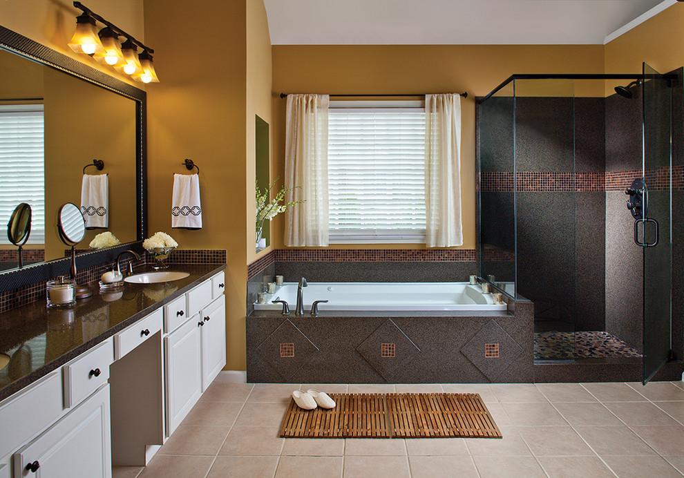 حمام موزاييك 8 الموزاييك.. فخامة وروعة في حمامك