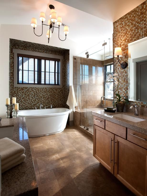 حمام موزاييك 9 الموزاييك.. فخامة وروعة في حمامك