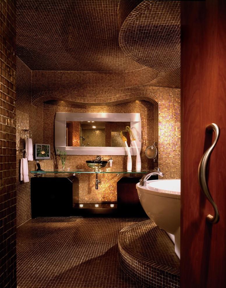 حمام موزاييك الموزاييك.. فخامة وروعة في حمامك