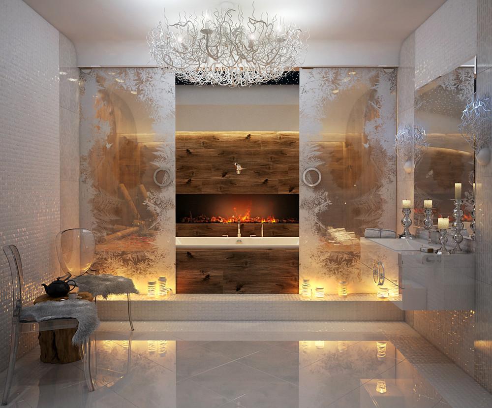 حمام يتميز بالفخامة 1 5 حمامات ملكية لعشاق الفخامة