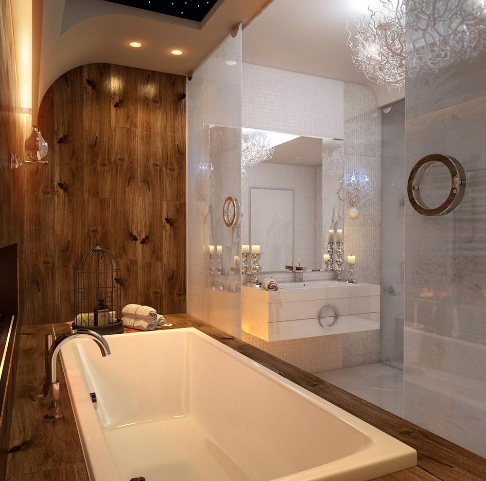 حمام يتميز بالفخامة 2 5 حمامات ملكية لعشاق الفخامة