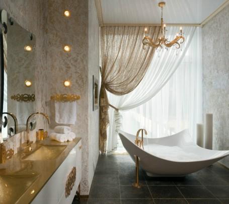 5 حمامات ملكية لعشاق الفخامة