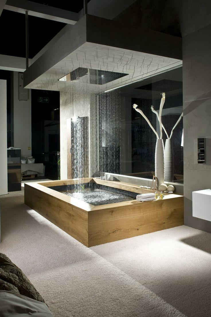 حوض استحمام 2 أحواض استحمام فريدة لهواة الرفاهية