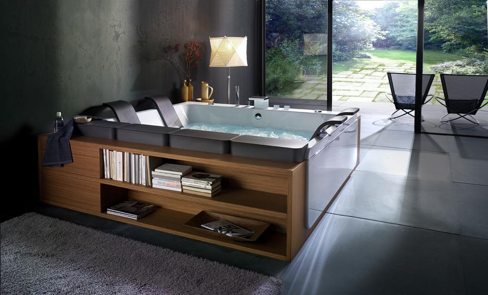 حوض استحمام 3 أحواض استحمام فريدة لهواة الرفاهية