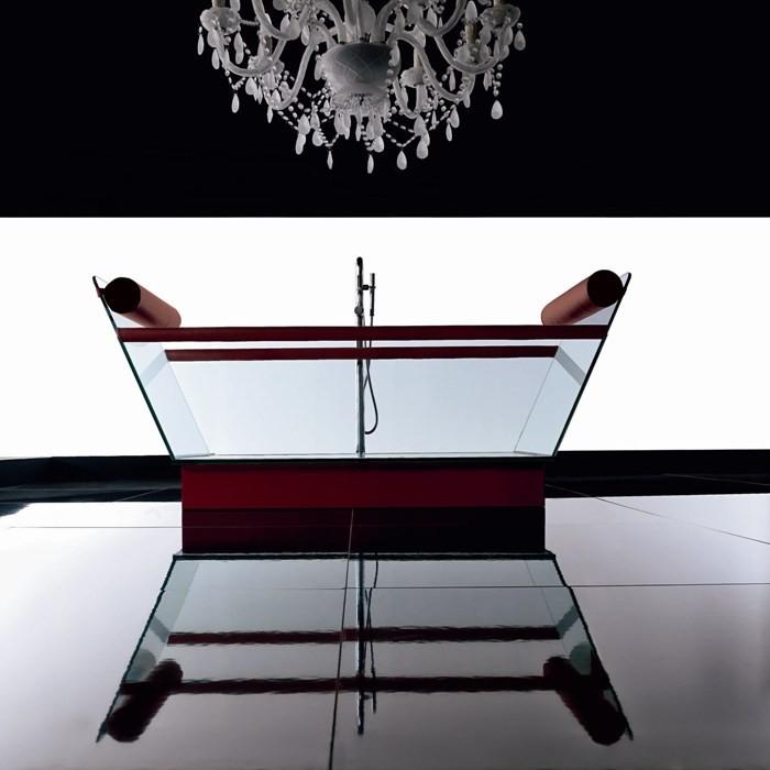 حوض استحمام 6 أحواض استحمام فريدة لهواة الرفاهية