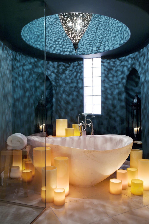 حوض استحمام 7 أحواض استحمام فريدة لهواة الرفاهية