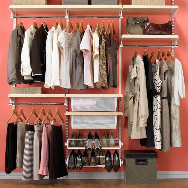 دولاب منظم 1 7 أفكار ممتازة  لخزانة ملابس منظمة دائمًا