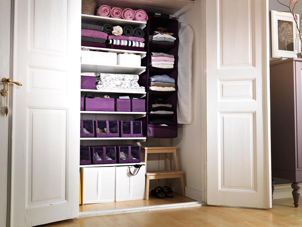 دولاب منظم 2 7 أفكار ممتازة  لخزانة ملابس منظمة دائمًا