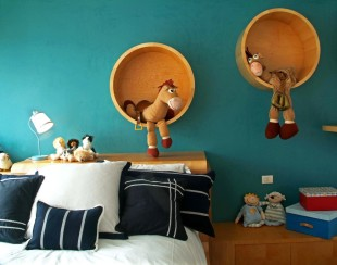 كيف تحولين الألعاب لديكور رائع في غرف نوم الأطفال