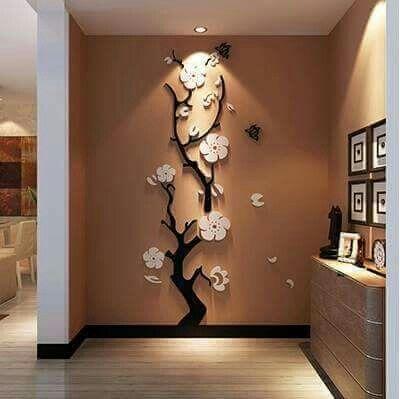 ديكور مجسم تصاميم جدران منازل لهواة الديكورات الجريئة