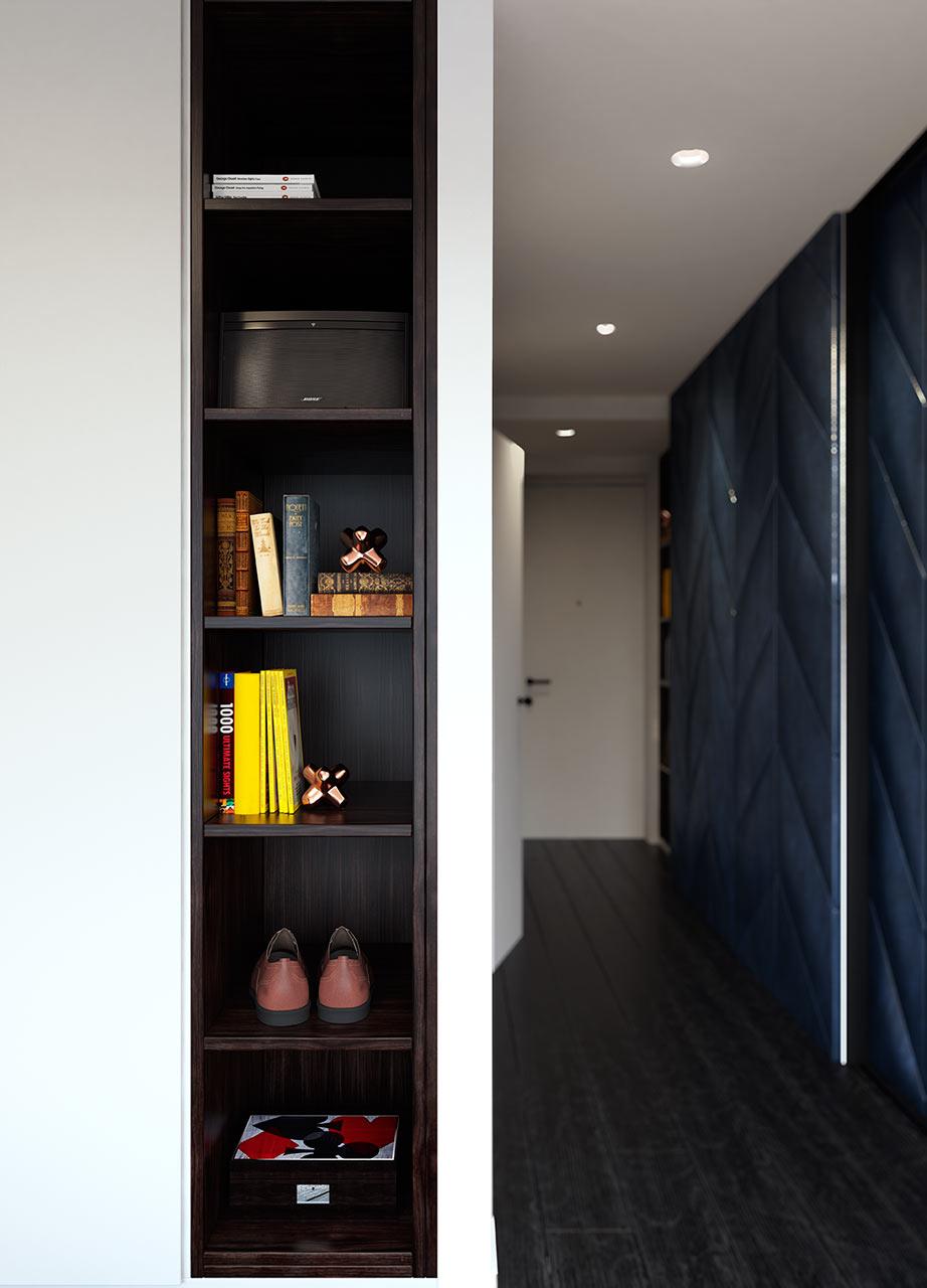 رواق مودرن 1 جرأة وروعة الألوان في تصميم وحدات سكنية عصرية