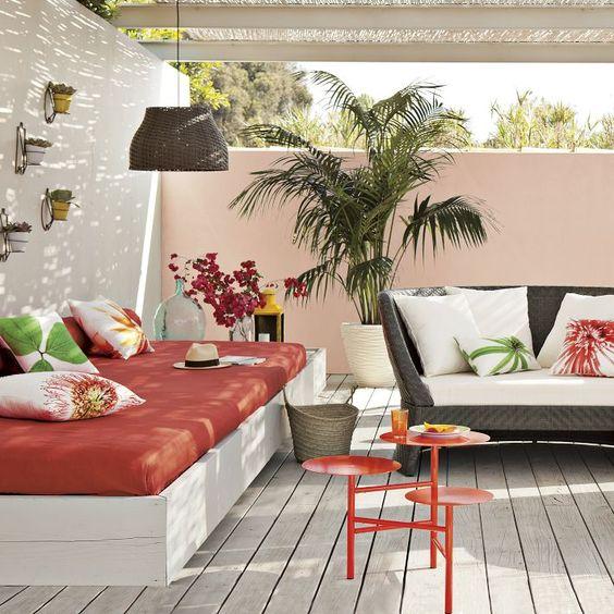 رووف 14 أفكار تصاميم جلسات على أسطح المنازل