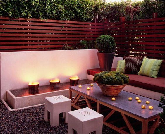 رووف 4 أفكار تصاميم جلسات على أسطح المنازل