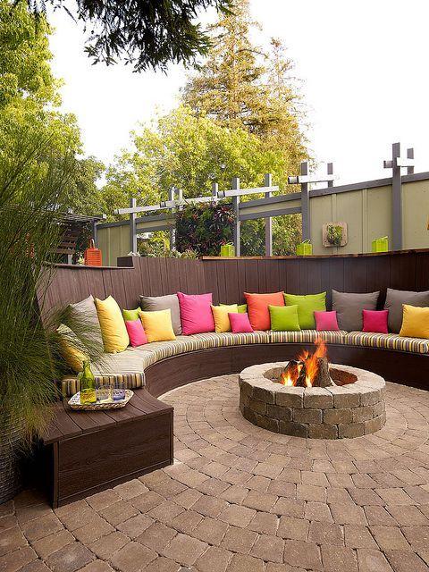 رووف 5 أفكار تصاميم جلسات على أسطح المنازل