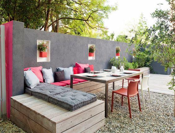 رووف 6 أفكار تصاميم جلسات على أسطح المنازل