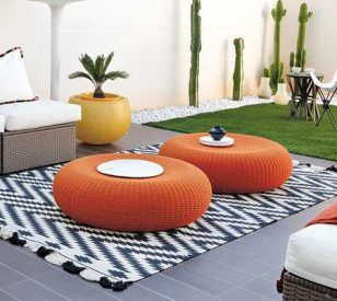 أفكار تصاميم جلسات على أسطح المنازل