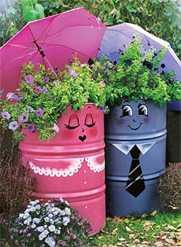زرع ديكورات خيالية لحدائق المنازل