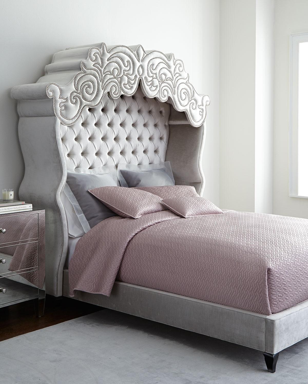 سرير كابيتونيه 1 1200x1500 تصميمات رائعة ومتنوعة للسرير الكابيتونيه