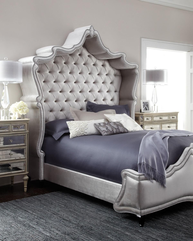 سرير كابيتونيه 2 1200x1500 تصميمات رائعة ومتنوعة للسرير الكابيتونيه
