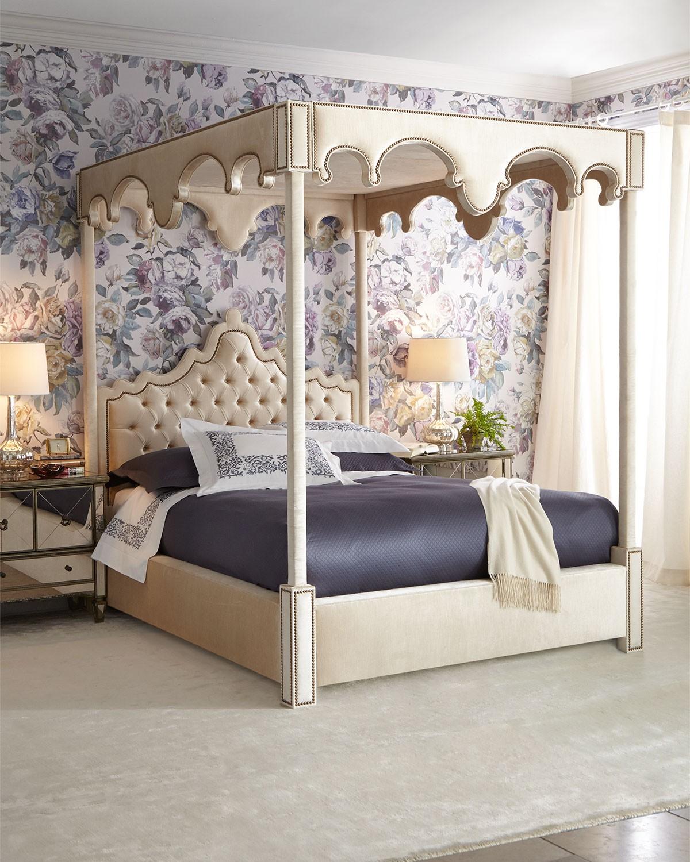 سرير كابيتونيه 3 1200x1500 تصميمات رائعة ومتنوعة للسرير الكابيتونيه