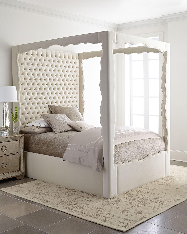 سرير كابيتونيه 4 1200x1500 تصميمات رائعة ومتنوعة للسرير الكابيتونيه