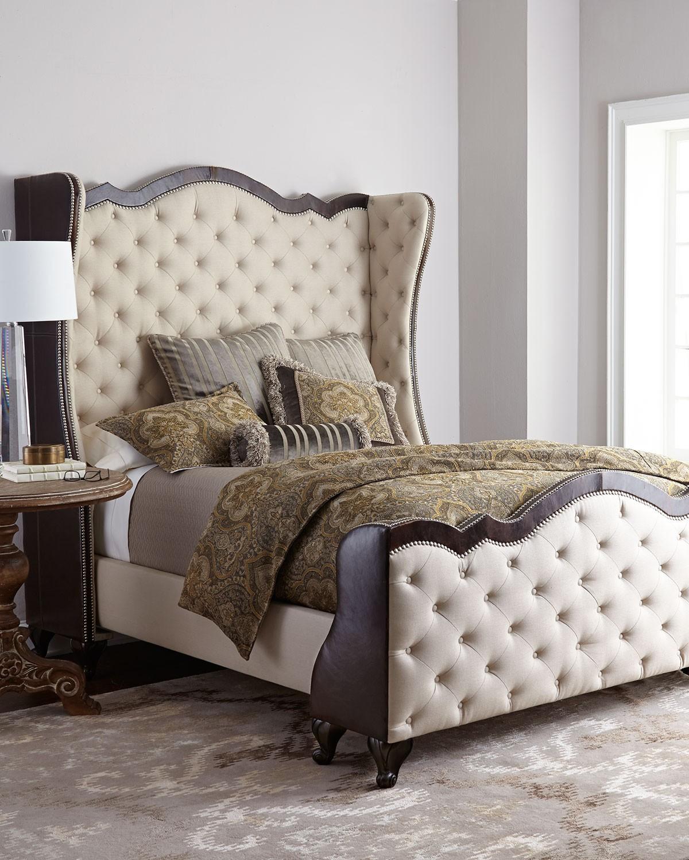 سرير كابيتونيه 5 1200x1500 تصميمات رائعة ومتنوعة للسرير الكابيتونيه