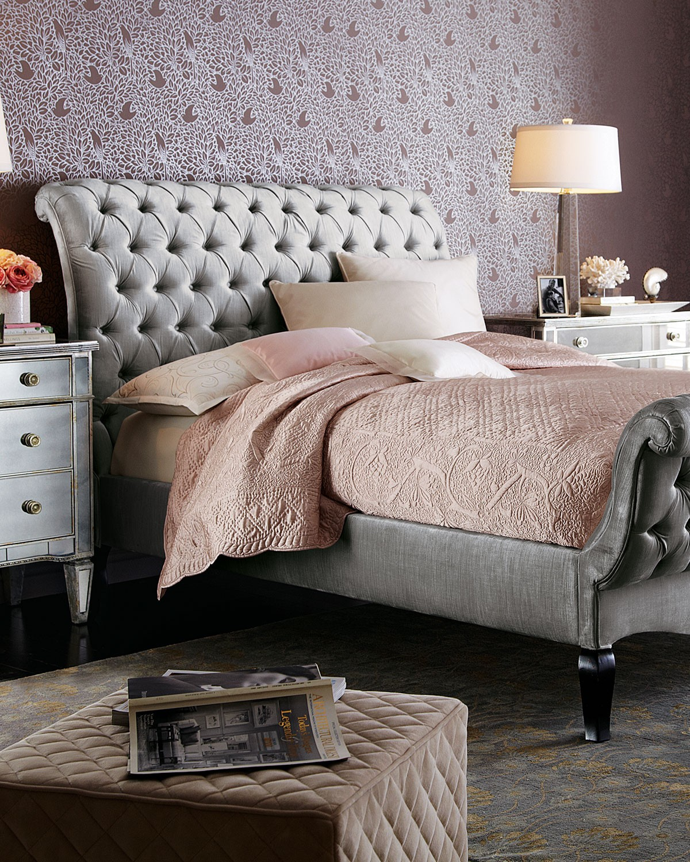 سرير كابيتونيه 8 1200x1500 تصميمات رائعة ومتنوعة للسرير الكابيتونيه