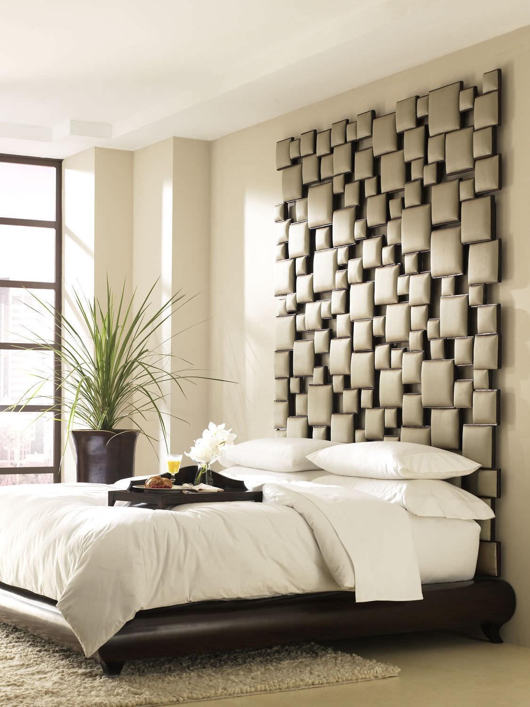 سرير مودرن بظهر عالي 2 1125x1500 السرير ذو الظهر العالي: لمسة أناقة وفخامة في غرفة النوم