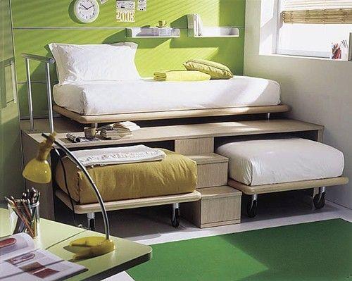 سرير 13 أفكار سراير للمساحات الصغيرة
