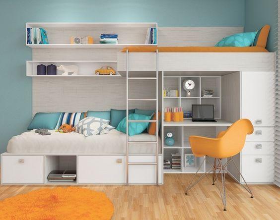 سرير 4 1 أفكار سراير للمساحات الصغيرة