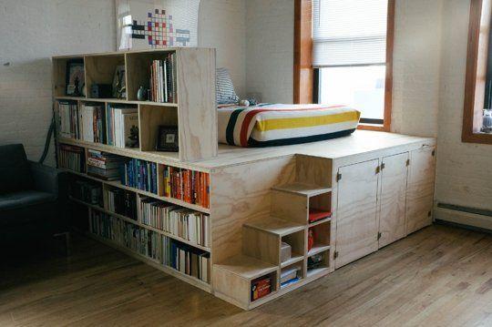 سرير 6 1 أفكار سراير للمساحات الصغيرة