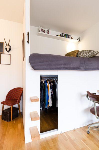 سرير 7 1 أفكار سراير للمساحات الصغيرة
