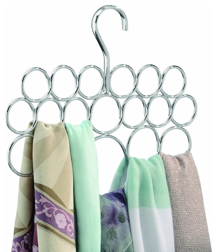 شماعة شيلات 2 7 أفكار ممتازة  لخزانة ملابس منظمة دائمًا