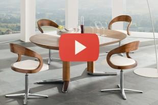 بالفيديو: كيفية وضع طاولة طعام كبيرة في غرفة صغيرة