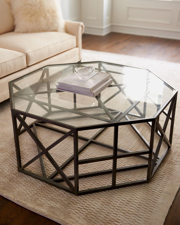 طاولة قهوة متميزة 1 1200x1500 تصميمات طاولات قهوة رائعة تضفي الأناقة والتميز على غرفة الجلوس