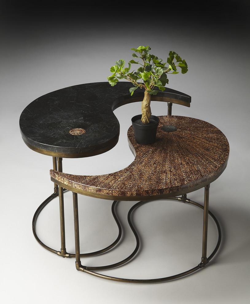 طاولة قهوة متميزة 71 تصميمات طاولات قهوة رائعة تضفي الأناقة والتميز على غرفة الجلوس