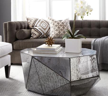 تصميمات طاولات قهوة رائعة تضفي الأناقة والتميز على غرفة الجلوس