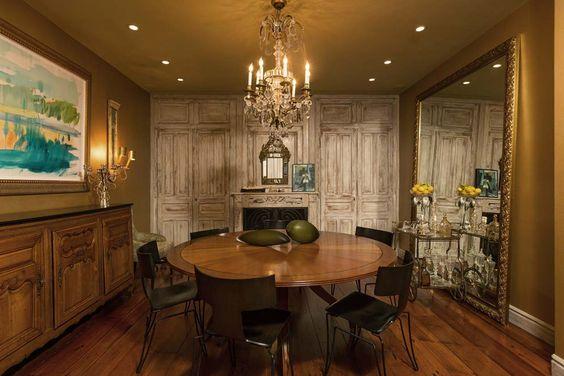 طاولة 2 شاهدي أناقة منزل النجمة جينيفر لوبيز (Jennifer Lopez)