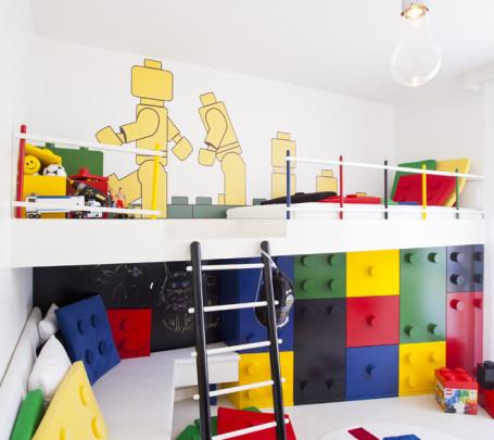 غرفة أطفال بديكور مميز 1ا