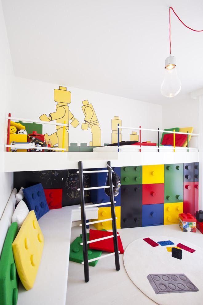 غرفة أطفال بديكور مميز 1ا غرف نوم أطفال متميزة جدًا بديكورات مستوحاة من اهتماماتهم