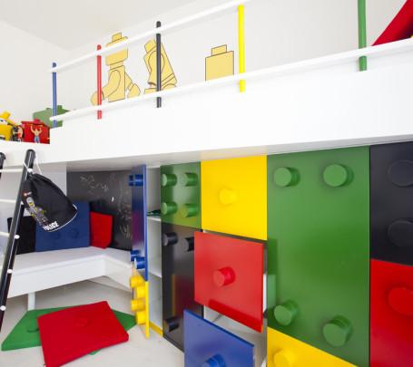 غرفة أطفال بديكور مميز 1
