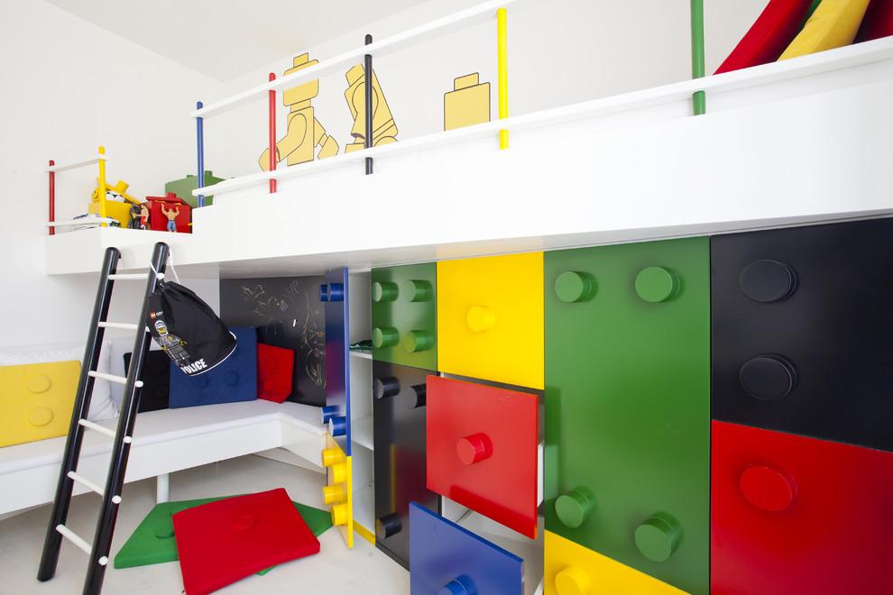 غرفة أطفال بديكور مميز 1 غرف نوم أطفال متميزة جدًا بديكورات مستوحاة من اهتماماتهم