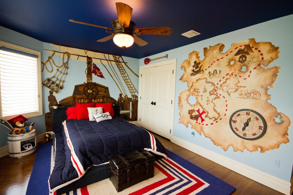 غرفة أطفال بديكور مميز 10 غرف نوم أطفال متميزة جدًا بديكورات مستوحاة من اهتماماتهم